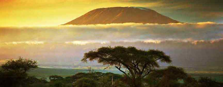 Sunset View of Kilimanjaro
