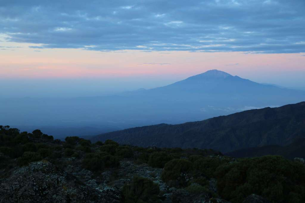 Mount Meru in the background (Day 2)